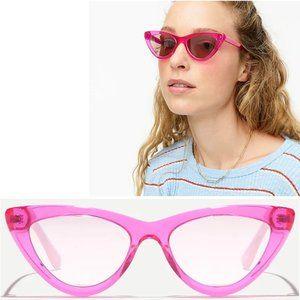 🌷 NEW J. Crew Pink Bungalow Cat Eye Sunglasses